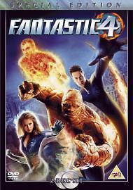 Fantastic Four DVD 2005 2Disc Set - Cliftonville Margate, United Kingdom - Fantastic Four DVD 2005 2Disc Set - Cliftonville Margate, United Kingdom