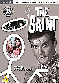 The Saint: The Complete Monochrome Series  18-Disc  Box Set  New  Fast  Post