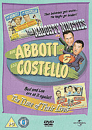 Abbott & Costello:Naughty Nineties/The Time Of Their Lives-2 Films On 1 DVD~NEW