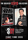 The Greatest Elvis Collection (DVD, 2007, 3-Disc Set)