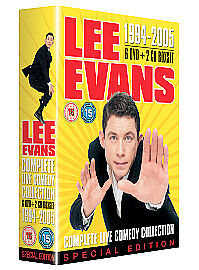 Lee Evans - 1994-2005 Complete Live Comedy Collection (DVD, 2007, 10-Disc...