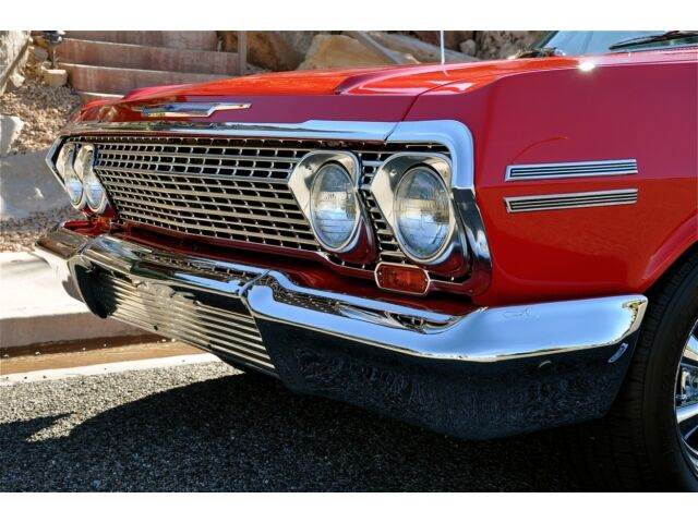 '63 CHEVROLET IMPALA SS 327 - #'s Matching - Rotisserie