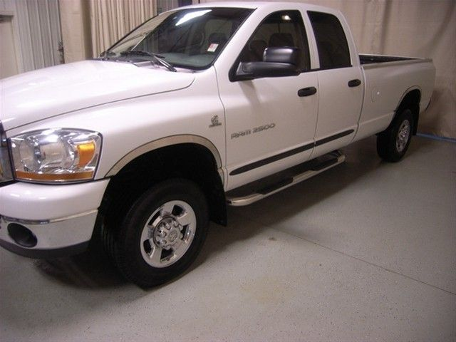 2006 Dodge Ram 2500 Diesel 4x4 Quad Cab Long Bed Manual