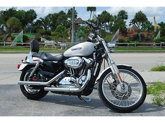2008 Harley-davidson Xl1200c Sportster 1200 Custom