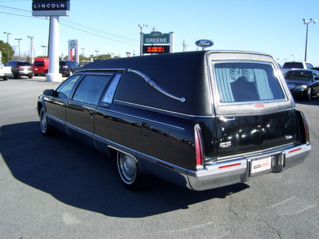 1996 Cadillac Hearse Built by Superior Coach Trade-in!