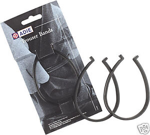 Cycling-Riding-Trouser-Clips-Bands-Black