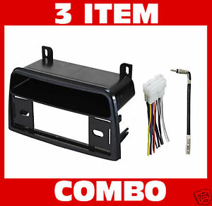 1995 1999 saturn radio stereo dash install kit wire harness plug image is loading 1995 1999 saturn radio stereo dash install kit