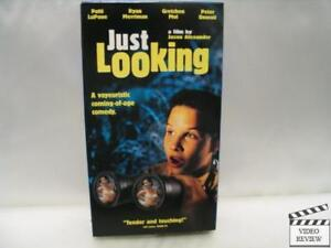 Just-Looking-VHS-2001-Gretchen-Mol-Patti-LuPone