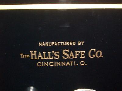 """""""Hall's Safe Co. Emblem/Sticker, Gold Letters"""