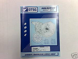 FORD EXPLORER AUTOMATIC TRANSMISSION MANUAL WITH THE 96-01 5R55E AUTO TRANS BOX