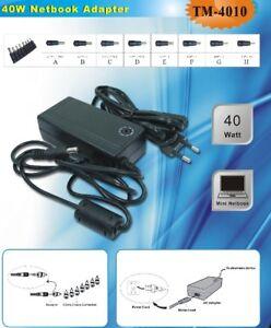 Caricabatterie-UNIVERSALE-per-pc-40W-da-9-5-a-20-Volt-10-5-12-16-19-20-V-volt