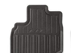 genuine oem honda fit all season floor mat set 2007 2008. Black Bedroom Furniture Sets. Home Design Ideas