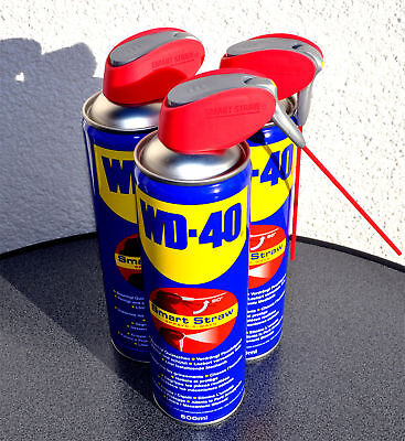 WD 40 Multifunktionsöl 3x 500ml Schmiermittel