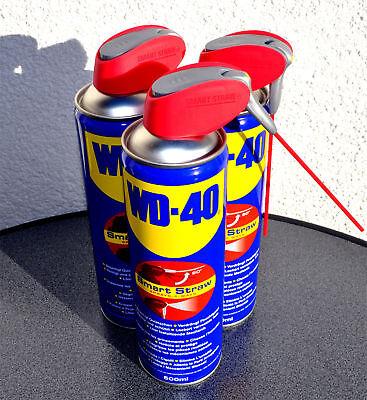 WD 40 Multifunktionsöl 3x 500ml Schmiermittel