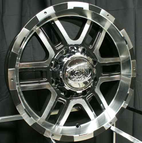 20 ion 179 Wheels Rims Black Toyota Landcruiser Tundra