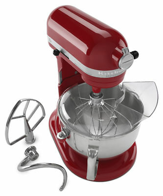 KitchenAid R-KP26M1Xer Pro 600 Stand Mixer 6-Quart Red Color Certified Refurishd