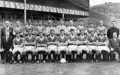 RANGERS FOOTBALL TEAM PHOTO 1967-68 SEASON