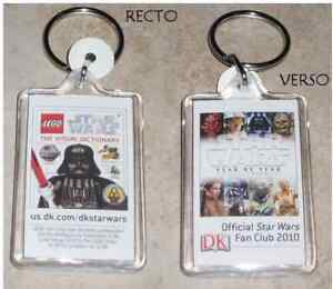 star wars porte clefs officiel fan club star wars lego ebay. Black Bedroom Furniture Sets. Home Design Ideas