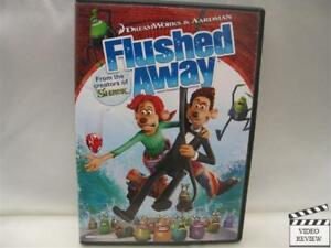 Flushed Away * DVD * WS * Hugh Jackman, Kate Winslet ...