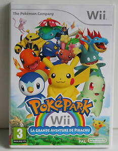 VIDEO-GAME-NINTENDO-WII-POKEPARK-PIKACHU-FRENCH-3