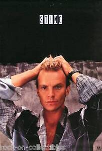 The-Police-Sting-1985-Dream-of-the-Blue-Turtles-Original-Promo-Poster