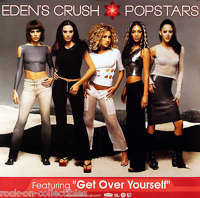 EDEN'S CRUSH PUSSYCAT DOLLS 2001 POPSTARS PROMO POSTER ORIGINAL