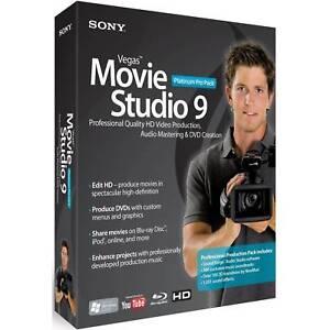 Sony vegas movie studio hd platinum 11 price