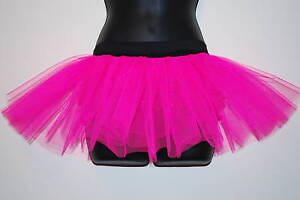 image is loading new pink tutu flo neon 2 layer free