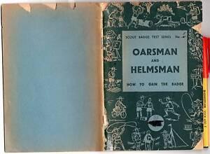 1947-57-Boy-SCOUTS-Badge-Test-OARSMAN-and-HELMSMAN-60pg