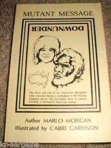 Mutant-Message-Down-Under-Marlo-Morgan-1991-Signed-RARE