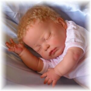 Berenguer Reborn Doll Kit 106 Baby  DISCONTINUED ITEM 17 INCH closed eyes