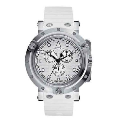 Nautica Oblo Chronograph Watch A32591g - Rrp £325 - Brand