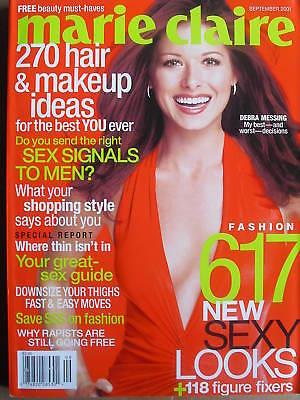 Debra Messing 9 01 Marie Claire Magazine