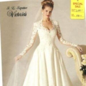 Victorian style wedding dress ebay for Victorian style wedding dress