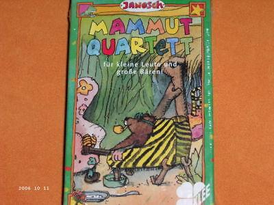 JANOSCH Mammut - Quartett ** original von KLEE 91426 aus dem Tigerenten-Club ARD