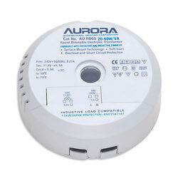 EUROPE-DELIVERY-Aurora-AU-RD105-35-105W-VA-Round-Electronic-Transformer