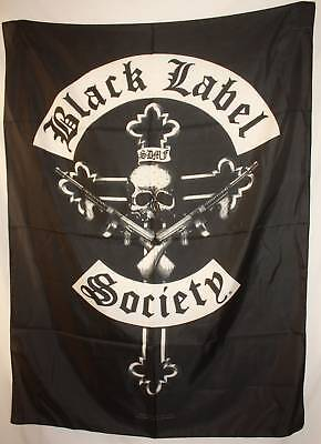 BLACK LABEL SOCIETY Crucifix Cross Cloth Fabric Poster Flag Tapestry Banner-New