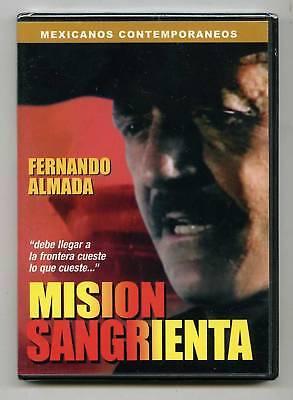 Mision Sangrienta (dvd) Fernando Almada, Espanol,