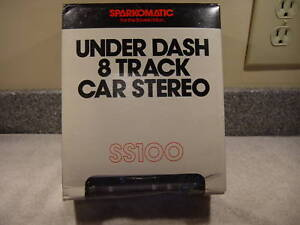 NOS UNDER DASH MOUNT 8 TRACK PLAYER