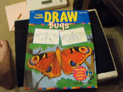 I Can Draw Bugs By Walter Foster (1994, Paperback)