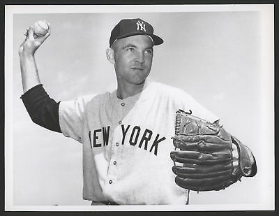 1963 Orig 1St Gen Press Photo   Stan Williams  Yanks