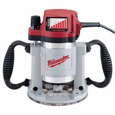 Milwaukee 5625 3-1/2HP Fixed-Base Production Router NEW