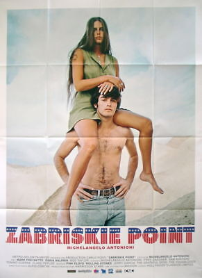 ZABRISKIE POINT Alternate Style film poster Antonioni B