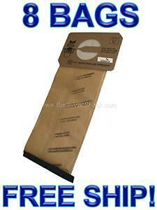 8 Bags for Electrolux Upright Vacuum Cleaner  STYLE U