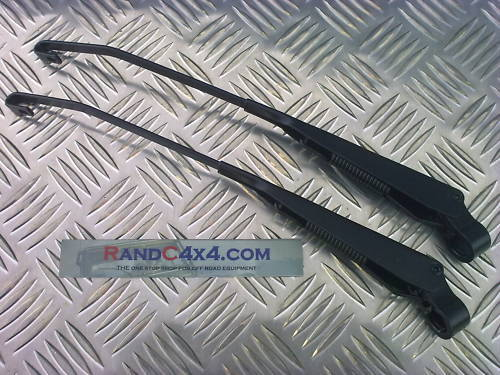 PRC4276 Land Rover Defender Front Windscreen Wiper Arms hook type to 2001