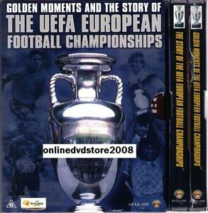 UEFA-FOOTBALL-SOCCER-CHAMPIONSHIPS-GOLDEN-MOMENTS-STORY-2DVD-BOXSET-NEW-SEALED