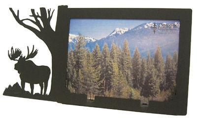Moose 5x7h Black Metal Picture Frame