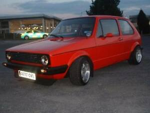 golf gti mk1 ebay. Black Bedroom Furniture Sets. Home Design Ideas