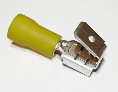 50 Pcs Yellow 12-10 Gauge Piggy Back Wire Connectors Splice Terminals