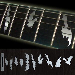 Bat-Wing-Metallic-Type-Fret-Markers-Decals-For-Guitar